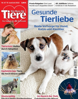 EIN HERZ FÜR TIERE Zeitschriftenabo