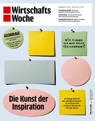 WIRTSCHAFTSWOCHE Zeitschriftenabo