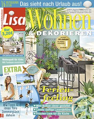 LISA WOHNEN & DEKORIEREN Zeitschriftenabo